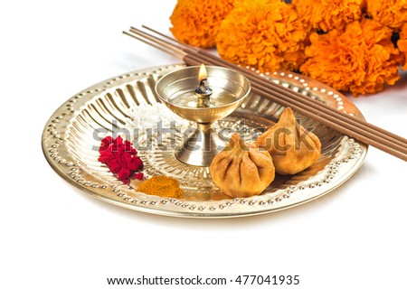 Thali stock images royalty free images vectors for Aarti dish decoration