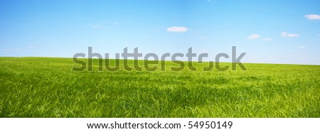 beautifully landscape - stock photo
