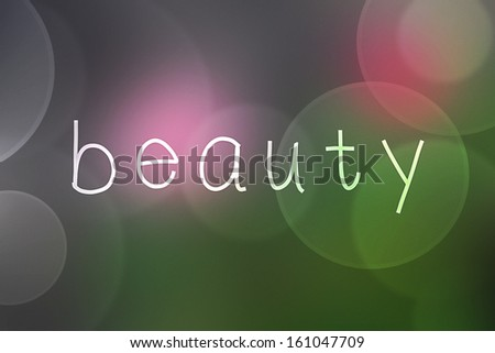 Beauty - stock photo