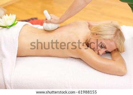 Beauty and Spa - stock photo
