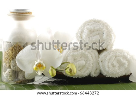 beauty and wellness concept - stock photo