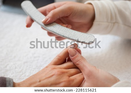 Beauty at work - stock photo