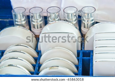 Beauty Box Sets - stock photo