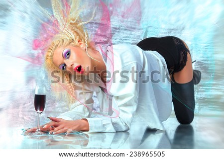 Beauty Expression - stock photo