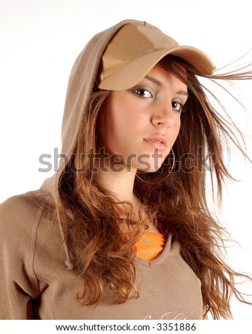 beauty girl #7 - stock photo