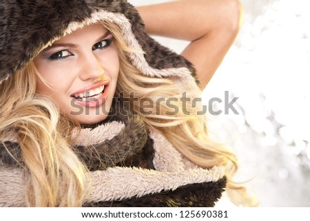 Beauty Girl  in Hat