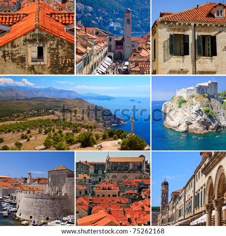 Beauty of Dubrovnik, Croatia - stock photo