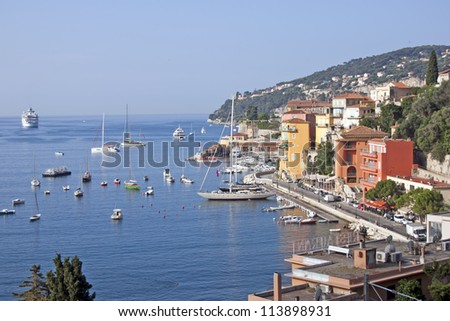 Beauty of French riviera of France
