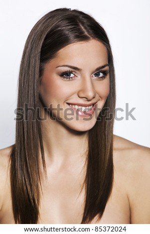 beauty portrait - stock photo