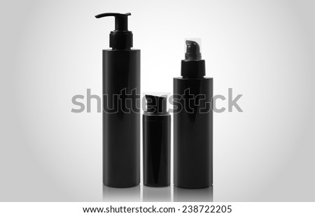 beauty products Bottle - stock photo