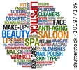 beauty saloon - stock photo