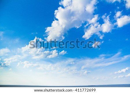 Beauty Scene Skies  - stock photo