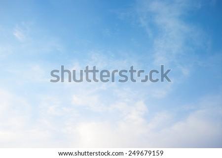 beauty sky - stock photo