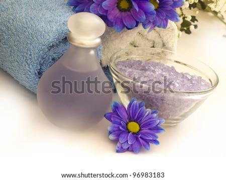 beauty spa arrangement - stock photo