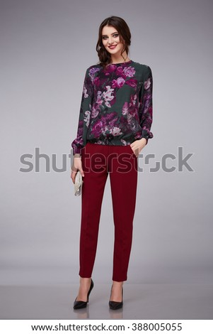 Party Blouse And Pants 114