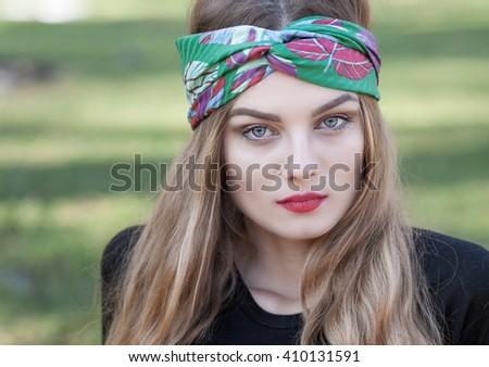 beauty woman - stock photo