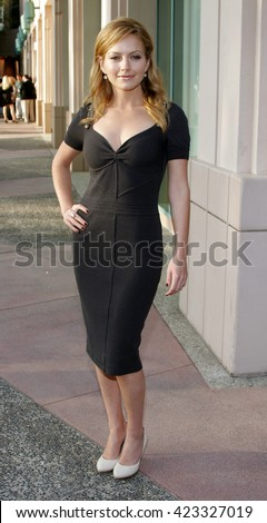 """Becki Newton at the Evening with """"Ugly Betty"""" held at the Leonard H. Goldenson Theatre in North Hollywood, USA on April 30, 2007. - stock photo"""