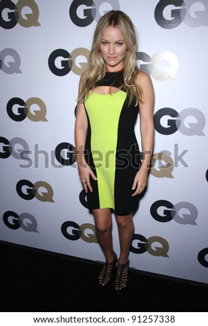"""Becki Newton at the 16th Annual GQ """"Men Of The Year"""" Celebration, Chateau Marmont, Los Angeles, CA 11-17-11 - stock photo"""