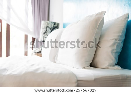 Bed pillow - stock photo