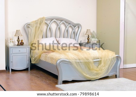 bed room - stock photo
