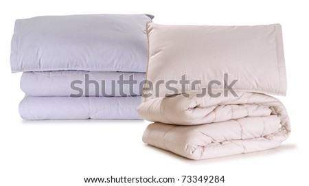 Bedding. Isolated