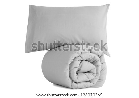 Bedding objects. - stock photo