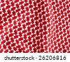 Bedouin style crochet textile. More of this motif & more textiles in my port. - stock photo