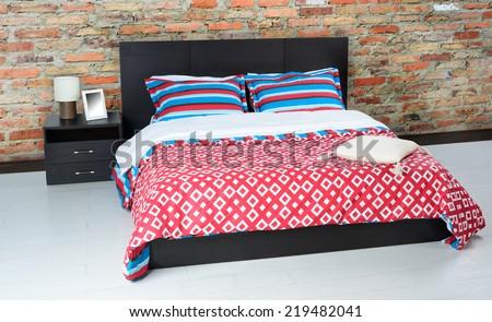 Bedroom. - stock photo