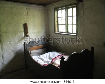 Bedroom in old farmhouse - Denmark