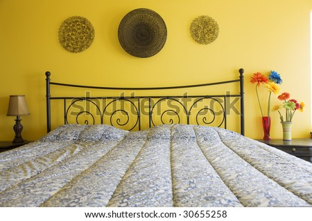 Bedroom Setting - stock photo