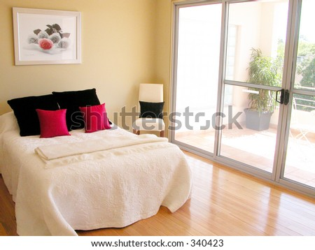Bedroom - the best room in the house! - stock photo