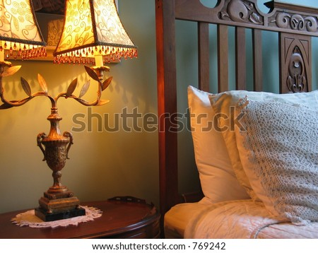 Bedside - stock photo