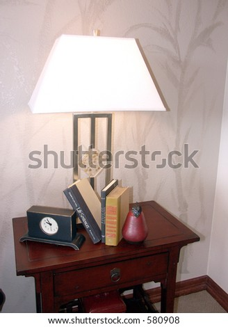 bedside table grouping