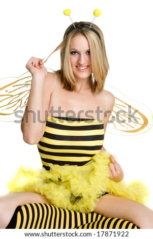 Bee Costume - stock photo