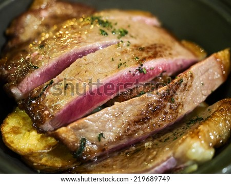 Beef Cocotte - stock photo