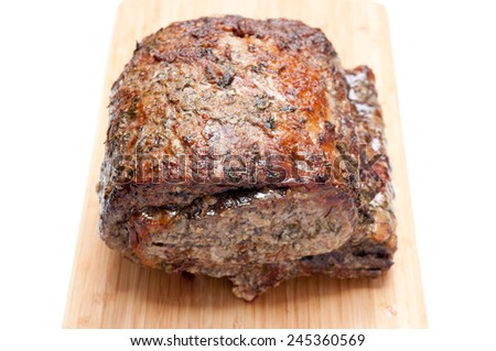 Beef Rib Roast Stock Photos, Images, & Pictures | Shutterstock