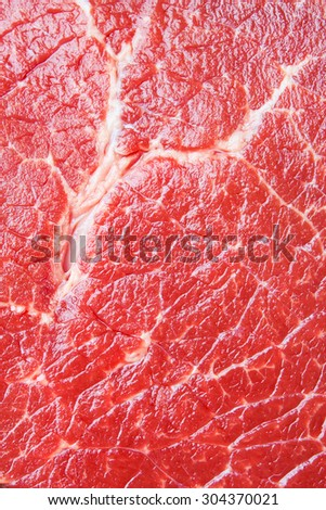 Beef raw red meat closeup texture background - stock photo