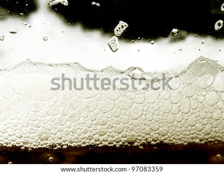 beer background close up - stock photo