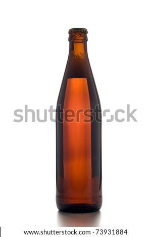 Beer Bottle- including clipping path