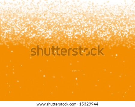 Beer bubble background - stock photo