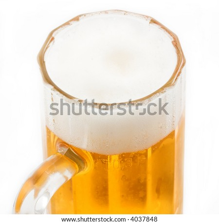 Beer close up