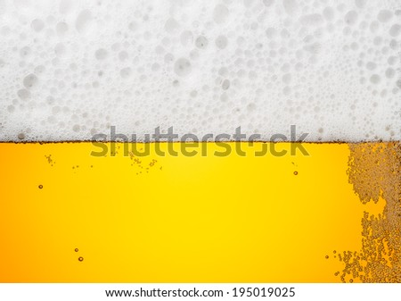 beer closeup  - stock photo