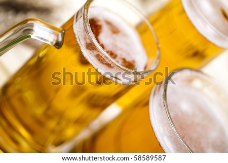 Beer collection - stock photo