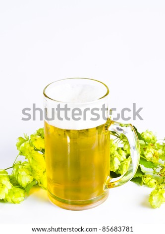 Beer glassware comprises the drinking vessels made of glass designed or commonly used for drinking beer