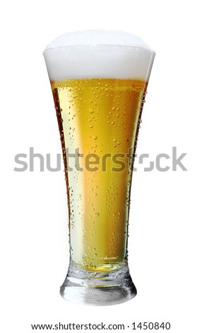 Beer in glass