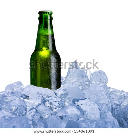 Beer in Ice Cube