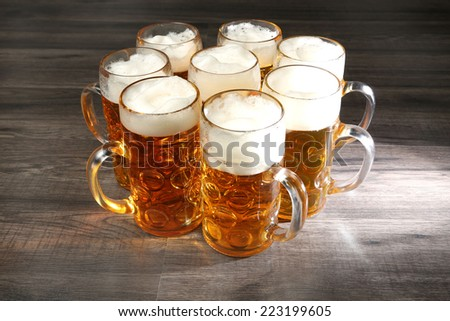 beer mug - stock photo