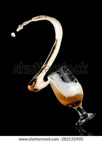 Beer up - stock photo