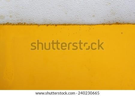 beer water - stock photo