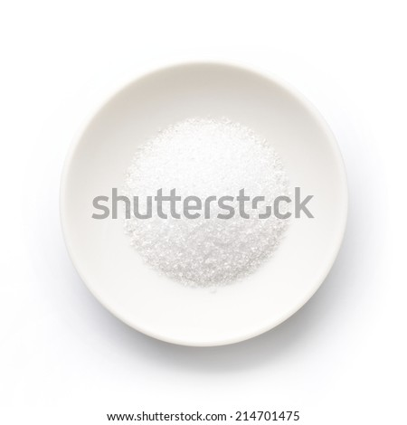 Beet granulated sugar - stock photo